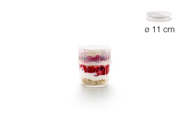Tapa extensible reutilizable (Ø 11 cm)