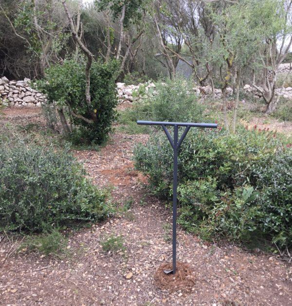 Perforadora de jardí (Ø 15 cm/acer)