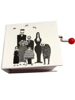 Manivela musical</br>«La Familia Addams»