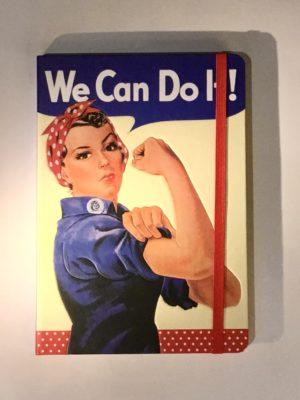 Libreta A5 - We Can Do It!