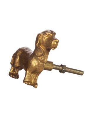 Tirador Perro Salchicha (dorado)