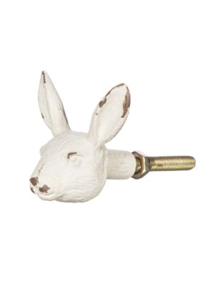 Tirador Conejo (blanco antiguo)