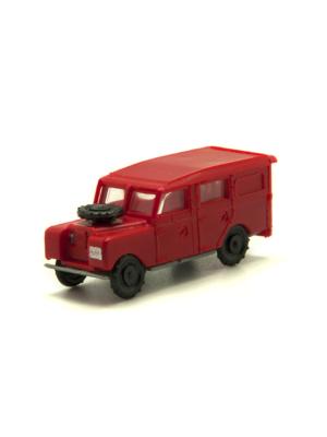 Miniatura escala H0 Land Rover largo (varios colores)