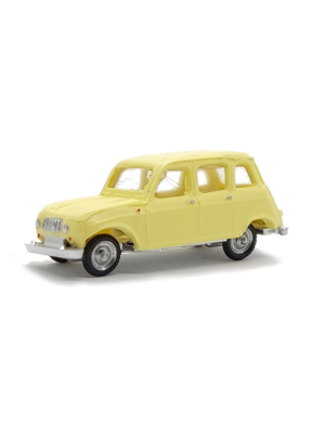 Miniatura escala H0 Renault 4L (varios colores)
