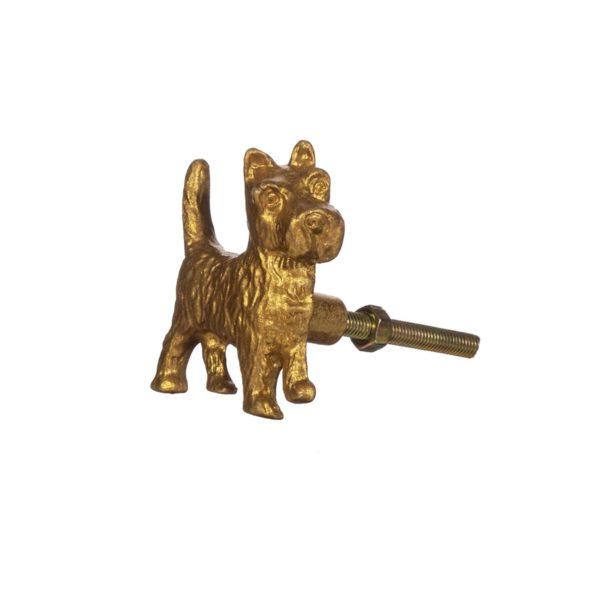 Tirador Terrier (dorado)