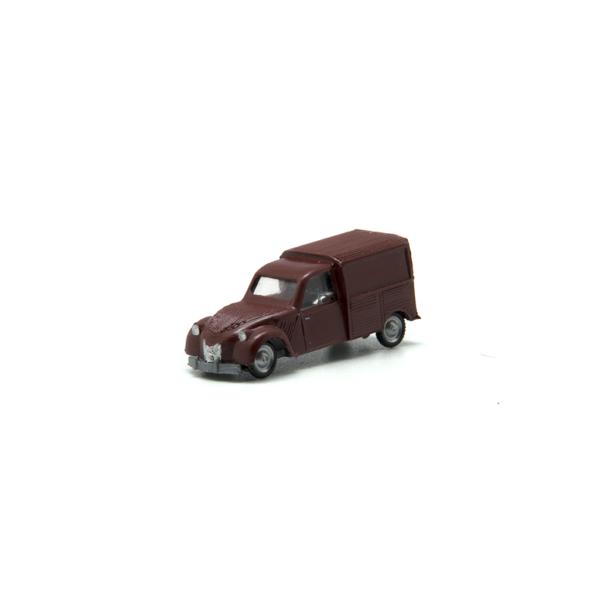 Miniatura escala H0 Citroën 2CV furgoneta (varios colores)