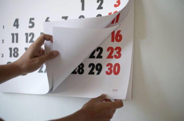 Calendario Vinçon 2022 (pared)