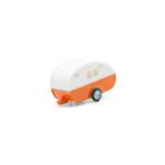 Miniatura escala H0 Seat 600 con caravana. ¡Próximo en llegar!